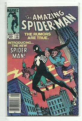 (1963 Series) Marvel Amazing Spider-Man #252 1St Appearance Black Costume - F/vf
