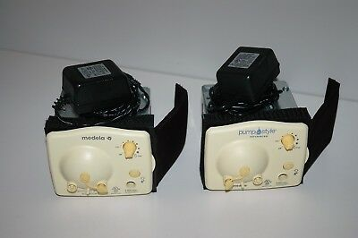 Lot of 2 Medela In Style  Advanced Double Motors Only + Power