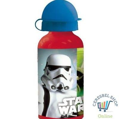 Star Wars - Botella Cantimplora De Aluminio 400 Ml (Stor 56734)