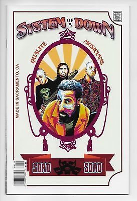 Rock And Roll Biography Comics #11 System of a Down (Acme Ink, 2018) VF/NM