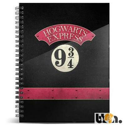 Cuaderno Hogwarts Express 9 3/4 Harry Potter