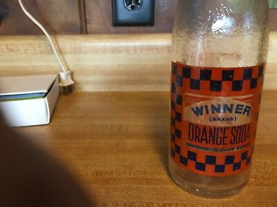 Winner, 12oz., Orange,  Soda Bottle, Dover, N.H.