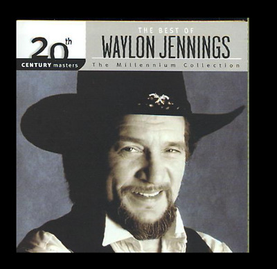 20th Century Masters Millennium Collection Best Waylon Jennings CD GREATEST HITS