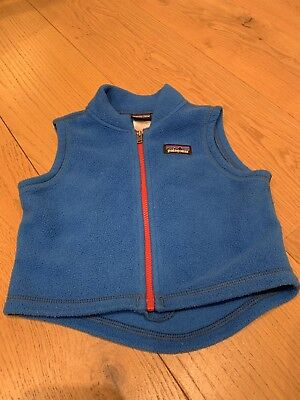 Patagonia Infant Fleece Gilet / Bodywarmer -  6 Months
