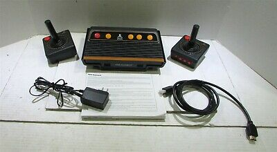 Atari Flashback 9 Gold HD, At Games, 120 Built-in Classic Games 720P HD Display