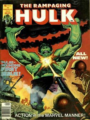 Us Comics The Rampaging Hulk Magazine Complete Collection On Dvd