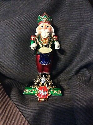 Nutcracker Drummer Stocking Hanger