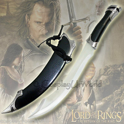 LOTR Lord of the Rings Elven Knife of Strider Aragorn Dagger Sword Blade w/ Scab
