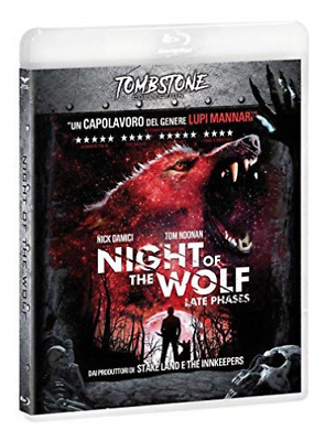 Night Of The Wolf (Tombstone) BLU-RAY NEW