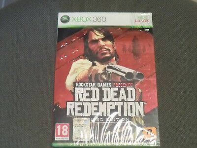 Red Dead Redemption Xbox 360 Limited Edition Pal Ita - Dlc Usato
