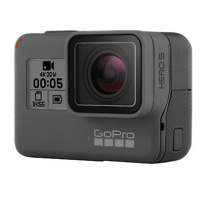 GoPro Hero 5 Black Edition with Extras (2 batteries, head strap, extension pole)