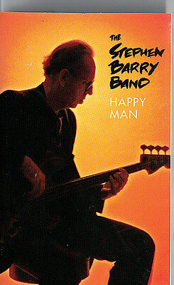 Mfd In Canada 1995 Blues Cassette Tape K7 The Stephen Barry Band : Happy Man