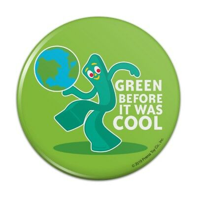 Engagement & Wedding Gumby Green Before It Was Cool Earth Planet Rectangle Lapel Pin Tie Tack Wedding & Anniversary Bands