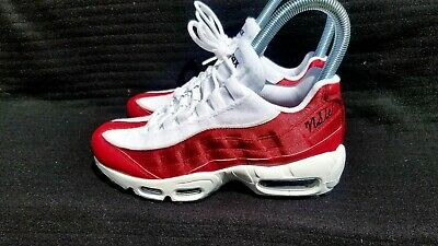 best website 5c4f3 ddd95 Nike Air Max 95 LX NSW Womens AA1103-601 Red Crush White Running Shoes Size