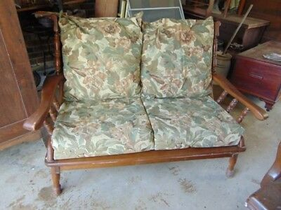 1960's MAPLE SEETEE LOVESEAT EARLY AMERICAN