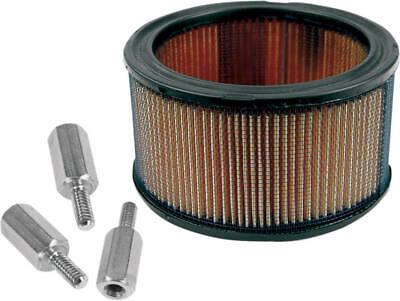 S&S Cycle 17-0045 High-Flow Air Filter And Adapter Kit