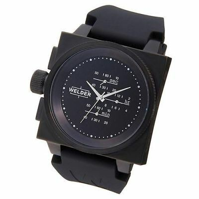 U-BOAT WELDER Quartz K26-5300 Unisex Black 50M Water proof 4 colour bezels