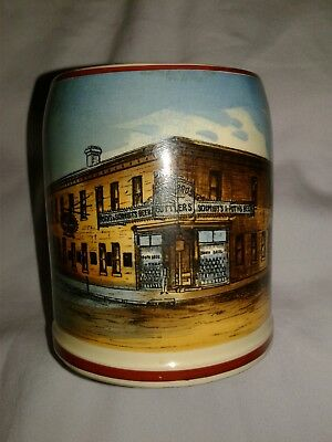 Schmidt's and Poth Brothers Brewing Corner Store pre-pro beer stein mug