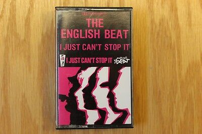 The English Beat - I Just Can't Stop It (Cassette, IRS, 1980)