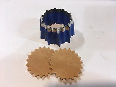 Clicker die - Pointed Concho Cutter