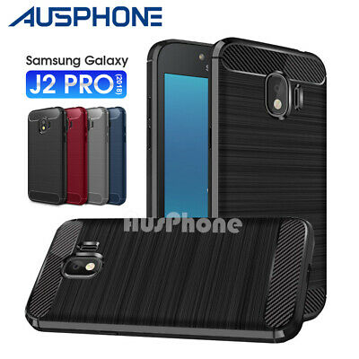 Samsung Galaxy J2 Pro J8 2018 Premium Shockproof Heavy TPU Duty Fiber Case Cover