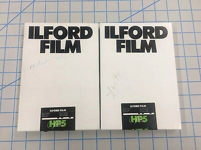 Ilford HP5 400 5x7 Film, Cold Stored, Total Of 38 Sheets