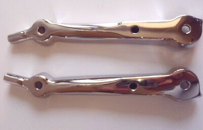 """Ford Roadster Phaeton / Open Car 2"""" Chopped Upper Windshield Stanchion Set 1932"""