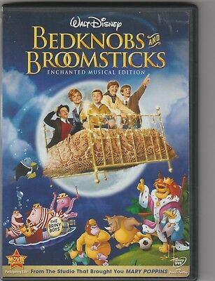 Bedknobs And Broomsticks Dvd - Enchanted Musical Edition