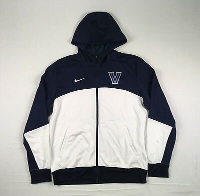 online store aa7ab a0a83 Nike Villanova Wildcats - Navy White Poly Jacket (Multiple Sizes) - Used