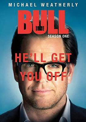 Bull: complete Season 1 series first One dvd new sealed + FREE TRACKING