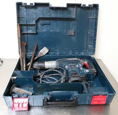 """BOSCH 11264EVS ROTARY ELECTRIC HAMMER DRILL KIT 1 5/8"""" SDS MAX W/4 Bits"""