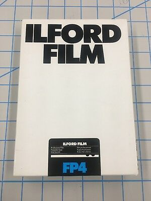 Ilford FP4 5x7 Film, Cold Stored, 50 Sheets Sealed Box