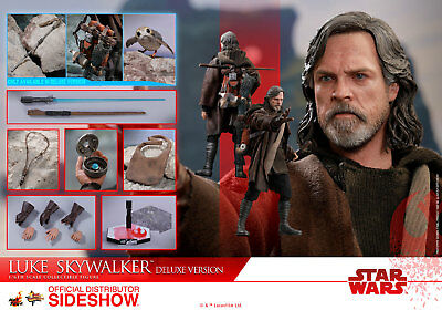 Hot Toys Star Wars The Last Jedi Luke Skywalker DELUXE 1/6 Scale Figure MMS-458