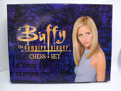 Buffy The Vampire Slayer Chess Set Boxed