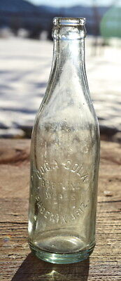 Scarce COCA-COLA BOTTLING WORKS PHOENIX, ARIZONA Territorial Soda Bottle