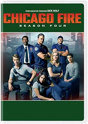 Chicago Fire: complete Season 4 series fourth Four dvd new + FREE TRACKING