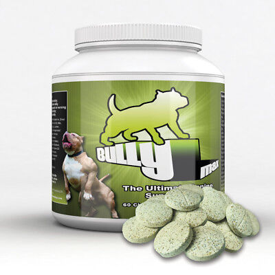 Bully Max Muscle Builder for Dogs. #1-rated, best-selling brand worldwide.