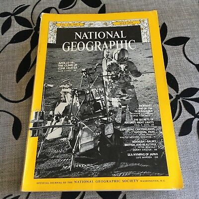National Geographic. Vol. 140, No.1 July 1971. Apollo 14