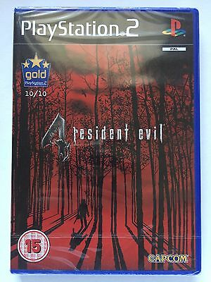 Brand New Sealed Resident Evil 4 - Ps2 - Sony Playstation 2 - First Print
