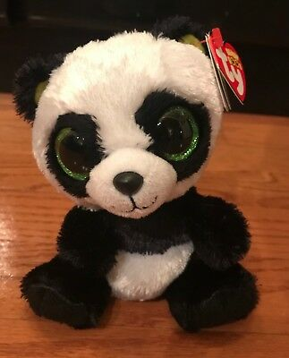 TY BEANIE BOO Panda named Bamboo with Red Tag -  9.99  99efa1039a6