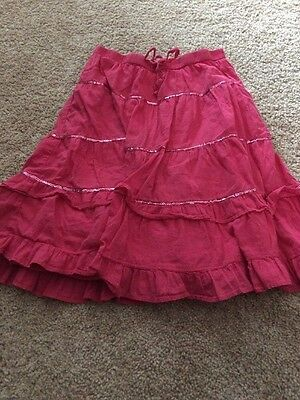 The Old Navy Girls Large Pink Sequin Skirt