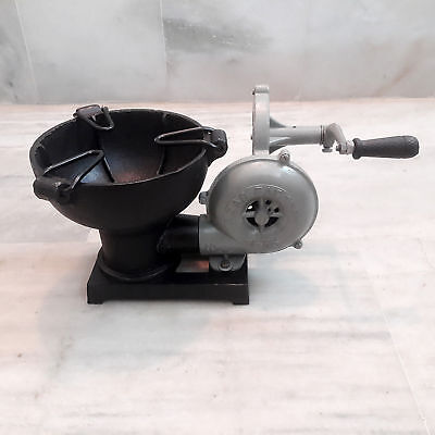 Forge Furnace With Hand Blower Vintage Style Pedal Type Handle Fan