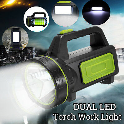 135000Lm Led Rechargeable Work Light Torch Camping Spotlight Lamp Us Model