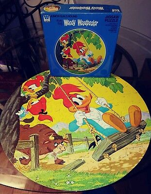 Vintage 1977 Walter Lantz Woody Woodpecker COMPLETE 125 PC Whitman Jigsaw Puzzle