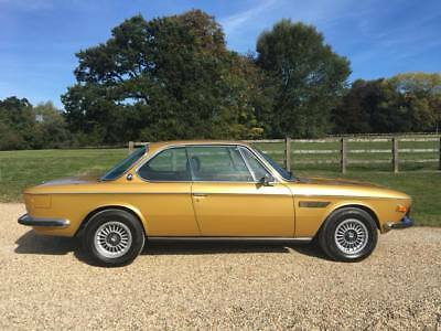 Bmw  E9  Csa  Automatic  Very Low  Mileage And  Ownership