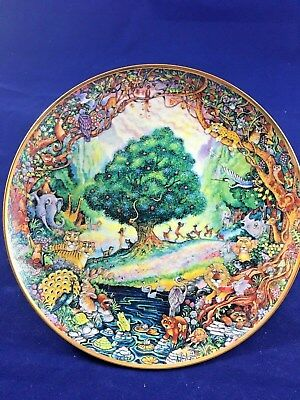 Franklin Mint Heirloom Collectors Plate PARADISE by Bill Bell. Limited Edition