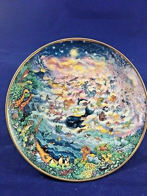 Franklin Mint Heirloom Collectors Plate IN THE BEG by Bill Bell. Limited Edition