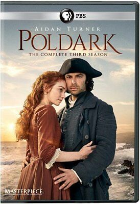 Poldark: The Complete season 3 series Third three dvd new sealed + FREE TRACKING