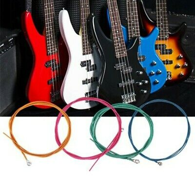 4 String Electric Bass Guitar Strings Light Gauge .046 To .100 Colorful
