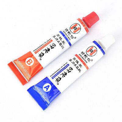 2pcs(A+B) Modified acrylic glue adhesive for metal plastic wood crystal glass GY